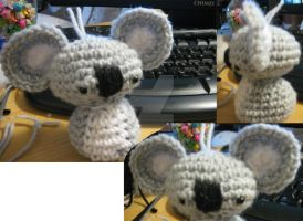 Melbourne the Amigurumi Koala by cirqueducrochet