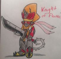 Knight of Flame by Ciu555