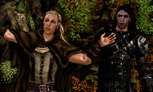 Loghain and Maric by TheLonelySeeker
