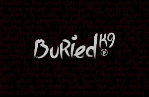 Buried K9 Font by ykl
