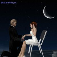 A Moonlight Engagement by IamAlbertWesker