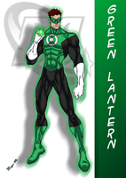 DC Green Lantern: Modern by skywarp-2