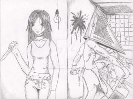 Me in Silent Hill in detail by OxBloodrayne1989xO