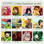 2014 Summary by Zackypenguin