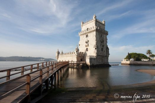 Belem Tower, Lisbon by mariustipa