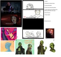 Mass Effect 2 doodles by eve-bolt