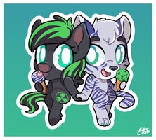 Chibi Week 1: ZoeTheMare by OEmilyThePenguinO