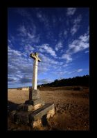 Stone Cross by Javs