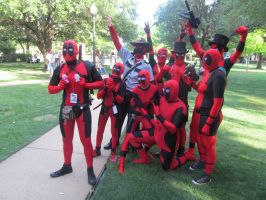 A-Kon '14 - Marvel 4 by TexConChaser