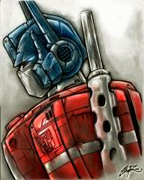 Optimus by shawnr22