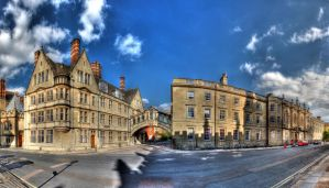 Hertford College by s-kmp