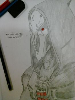 [Ovewatch] Reaper by ULGerard