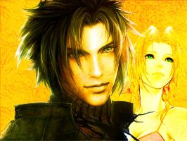 Zack and Aerith II by MiaHinasakie