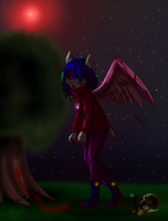 angel caido by gisselle50