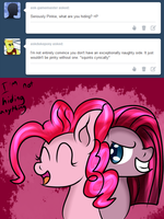 Ask Innocent Pinkie: Secrets And Lies by WolfyOmega