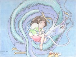 Spirited away by Ill-ustrato-saurus