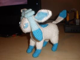 Crochet Shiny Galceon by Surroth