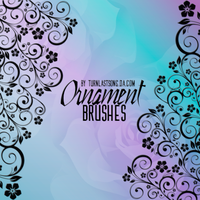 Ornament brushes. by turnlastsong