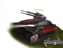 PS Concepts Porcupine Heavy AA by hansime