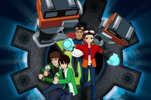 Another Ben 10 Generator Rex MMD by ultimate44