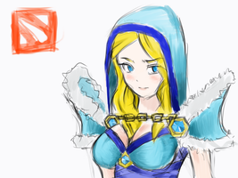 DotA 2 Crystal Maiden by CyberBladeVN