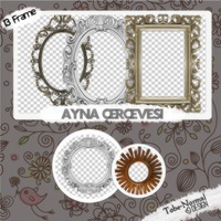 Ayna Cerceve Pack-Mirror Frame by tobe-normal