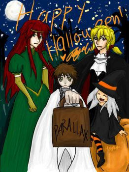 We Wish you a Happy Halloween by anbumoo