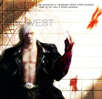 devil may cry Black Dante by wesvin