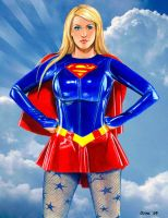 """Bianca Supergirl """"Clouds"""" by Xenomorph71"""