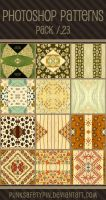 Photoshop Patterns - Pack 23 by punksafetypin