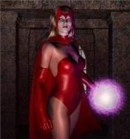 Scarlet witch by HAL001