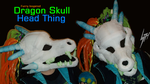 Dragon Skull Head by KysonKyoko
