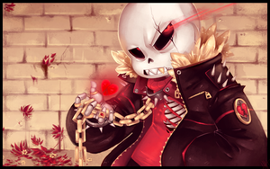Underfell Sans - *Still Determined Kid? by WalkingMelonsAAA