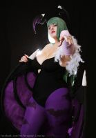 ReiCosplay: Morrigan Aensland by ReiParaguay