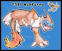 Pokemon: Monferno 2012 by AirRaiser