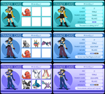 Trainer Cards by MyaTheSquishyOctopus