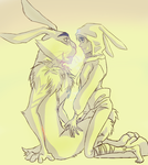 Happy Easter, Bunny by ASAMESHII
