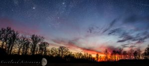 Galaxies at Sunset by PurdueRifleman