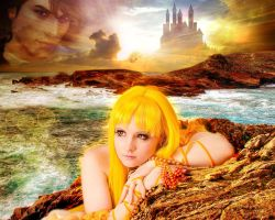 Coco yellow mermaid princess 2 by Lilian-hime