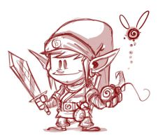 Link Sketch by BrokeJonez