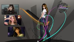 SNSD - Jessica Charm Wallpaper by ffadicted