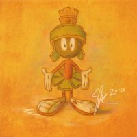 Marvin the Martian by Jacia