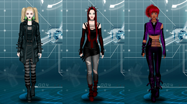 Hex Girls by ZoombieGrrll
