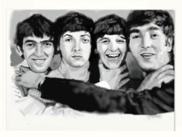 The Beatles by C-lar-T