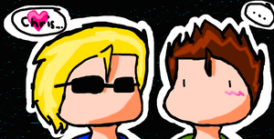Wesker and Chris by xXChiBiHighNessXx