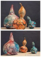 Gourds 1,2,3 by PestilentialCreature