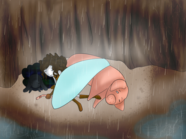 shelter from the rain by rifftiff