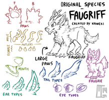 Original Species - Faugriff by MGMaguire