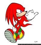 Knuckles the echidna by Gallerica