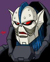 Heads Up 147 - Hordak by SeanRM